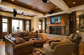 view in gallery tv and fireplace idea for the game room