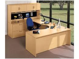 Curved Computer Desks hyperwork curved corner u shaped office desk