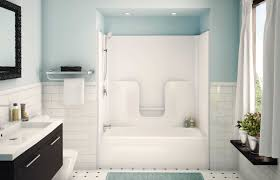 One Piece Fiberglass Tub Shower