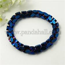 Wholesale Fashion <b>Non</b>-<b>Magnetic</b> Synthetic Hematite Stretch ...
