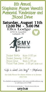 Memorial Fundraiser Flyer Upcoming Events Lockport Alliance Church