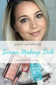 quick and effortless summer makeup look using 6 s beauty ger makeup looks pin this image on