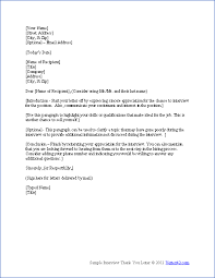 Brilliant Ideas Of Thank You Letter Template Job Interview Enom Warb