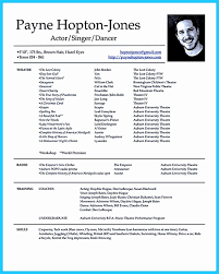 Child Actors Resume Template Lovely 20 Useful Sample Acting Resume