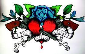Ed Hardy Flower Design