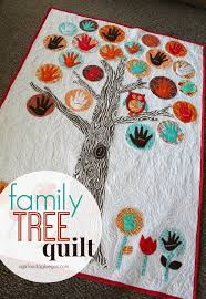 family tree quilt - A girl and a glue gun & family tree quilt Adamdwight.com