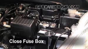 replace a fuse 2009 2013 honda fit 2010 honda fit sport 1 5l 4 cyl honda fit fuse box under hood/2010 at Honda Fit Fuse Box