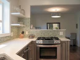 Kitchen Half Wall Design