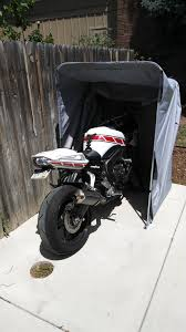 Motorcycle Shelter / Cover / Shed