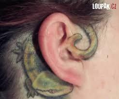 Obrázky Originální Tetování Na Uších Loupakcz