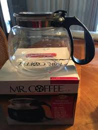 Coffee® replacement carafes guarantee you'll never go a morning without coffee again. Free Mr Coffee Replacement Carafe For Sale Free Nextdoor