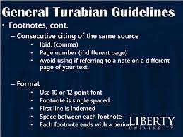 Ppt General Turabian Guidelines Powerpoint Presentation Id5151857