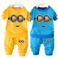 Baby Clothing Stores Near Me New Unisex Baby Boys Girl Clothes Despicable Me Minion Baby Clothing Set