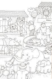 Coloriage Les Animaux Du Zoo Duilawyerlosangeles