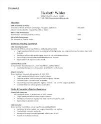 Student Resume Examples High School Simple Resume Format