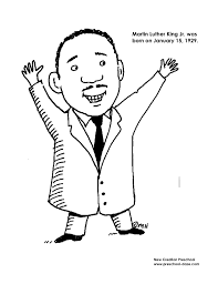 Small Picture Luther King Jr Coloring Printable