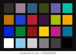 Color Calibration Chart Color Calibration Chart Images Stock Photos Vectors