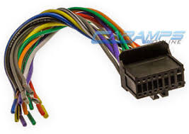new 16 pin pioneer 2003 2007 cd player receiver wiring harness image is loading new 16 pin pioneer 2003 2007 cd player