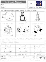 Phonics worksheets for kids including short vowel sounds and long vowel sounds for preschool and kindergarden. Au Phonics Worksheets And Games Galactic Phonics