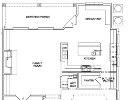 Kitchen Dimensions Layout