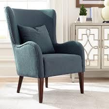 teal living room furniture. Scott Living Midcentury Dark Teal/Cappuccino Wingback Chair Teal Room Furniture