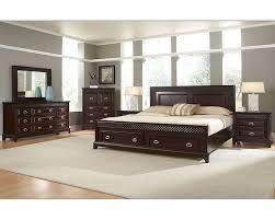 Sonoma Bedroom Furniture Najarian Furniture Bedroom Set With Storage Sonoma Na Sn 4set