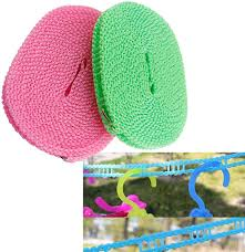 <b>Outdoor Windproof</b> Travel Home Laundry Retractable <b>ClothesLine</b> ...