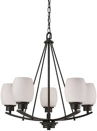 thomas cn170521 casual mission oil rubbed bronze mini hanging chandelier loading zoom