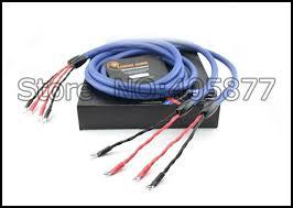 aliexpress com buy 2 5m viborg audio clear light speaker cable 2 5m viborg audio clear light speaker cable original box audio speaker wire spade plug