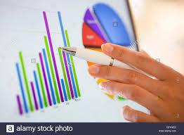 Business Chart Charts Close Up Closeup Computer Corporate