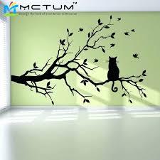 tree silhouette wall art wall arts wall art stickers trees modern cat tree branch tree silhouette wall