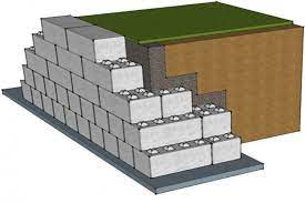 retaining walls flexible structures