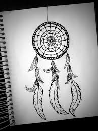 This seems like an easy dreamcatcher to draw, compared to the others i have  seen that look just impossible