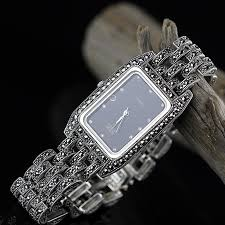 <b>S925 Pure Silver Jewelry</b> Thailand Craft Thai Silver Square Lady ...