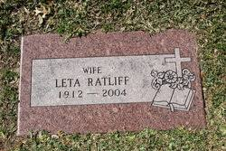Leta Ratliff (1912-2004) - Find A Grave Memorial