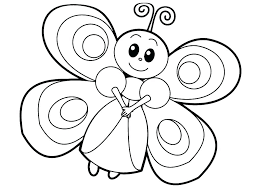 Cute Butterfly Coloring Pages Butterfly Coloring Pages For Toddlers