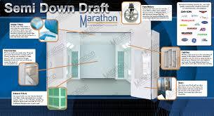 Downdraft Paint Booth Design Pdf Automotive Paint Booth Semi Down Draft Marathon