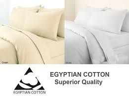 egyptian cotton 400 thread count duvet cover set
