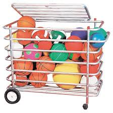 ball storage. in / outdoor ball carrier - 36\u0026amp;quot;h thumbnail 1 storage