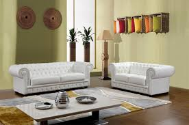 Italian Style Living Room Furniture Furniture Sectional Sofa In White Tone With Italian Style Has