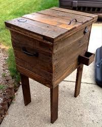 pallet wood pallet cooler