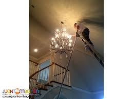 chandelier cleaning sealing and glass tinting services
