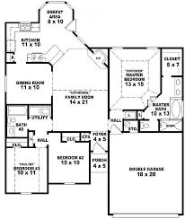 3 bedroom 2 bath house plans. Architecture Exquisite 2 Floor 3 Bedroom Bath House Plans D