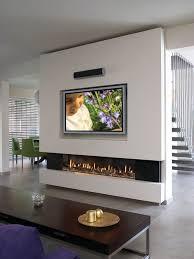 trendy living room photo in los angeles