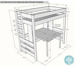 loft bed blue print diy loft bed loft bed blueprints with stairs loft bed
