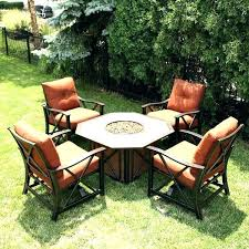 propane fire pit table set. Propane Fire Pit Table Set Patio Furniture Sets With Clearance