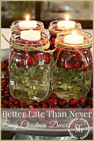 Mason Jars Decorated For Christmas 60 Easy Mason Jar Christmas Decorations You Can Make Yourself 60 12