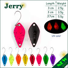 Jerry 1pc <b>fishing lures</b> high quality bright color <b>fishing spoons</b> ...