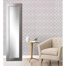 silver floor mirror. Delighful Mirror Brandt Works Mod Euro Silver Floor Mirror BM12SKINNY 16 In