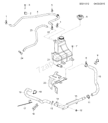 Engine cooling system diagram 2012 2013 2l 2s03 06 43 engine cooling system lwh chevrolet s10